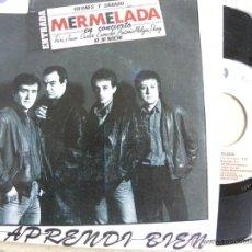 Discos de vinilo: MERMELADA -SINGLE 1985. Lote 41458898