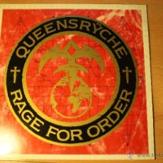 Discos de vinilo: QUEENSRYCHE, RAGE FOR ORDER, 86, EMI, MADE IN FRANCE, LP. Lote 41458936