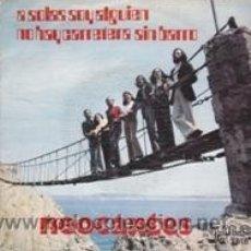 Discos de vinilo: NEOCANTES A SOLAS CON ALGUIEN/NO HAY CARRETERA SIN BARRO (GMA 1973). Lote 41459650