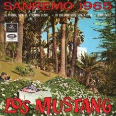 Discos de vinilo: MUSTANG, EP, AMIGOS MIOS + 3, AÑO 1965. Lote 41461019