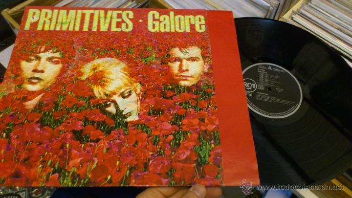 PRIMITIVES GALORE LP DISCO DE VINILO 1991 RCA (Música - Discos - LP Vinilo - Pop - Rock Extranjero de los 90 a la actualidad)