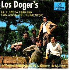 Discos de vinilo: LOS DOGER,S*EL TURISTA 1,999,999,PROMO. Lote 41466530