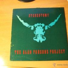 Discos de vinilo: THE ALAN PARSON PROJECT, STEREOTOMIC, SPAIN, LP. Lote 41466596