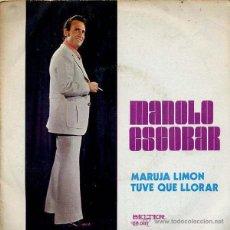 Discos de vinilo: MANOLO ESCOBAR ( MARUJA LIMON ) EP 45 RPM BELTER 08081 . Lote 41467650