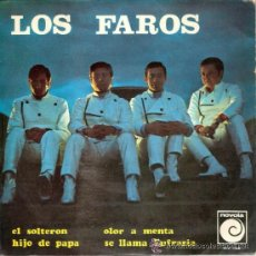 Discos de vinilo: LOS FAROS - EL SOLTERON + 3 (EP DE 4 CANCIONES) NOVOLA 1967 - PROMO. Lote 41468963