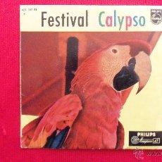 Discos de vinilo: FESTIVAL CALYPSO - CORO NORMAN LUBOFF. Lote 41470247