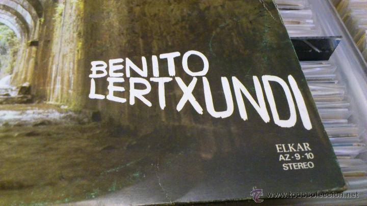 Discos de vinilo: Benito lertxundi 2 LP disco de vinilo doble Elkar - Foto 2 - 41471222