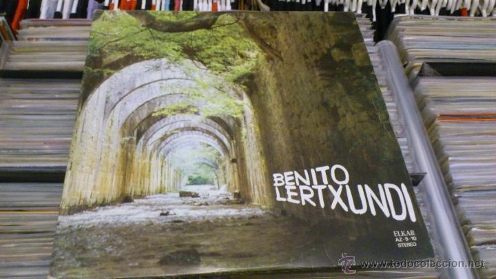 Discos de vinilo: Benito lertxundi 2 LP disco de vinilo doble Elkar - Foto 4 - 41471222