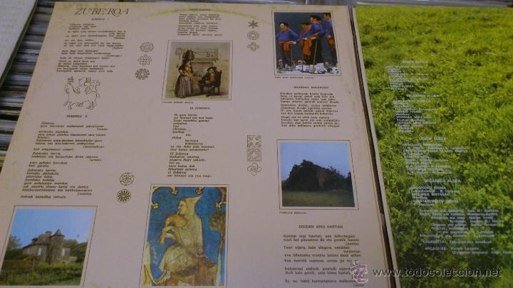 Discos de vinilo: Benito lertxundi 2 LP disco de vinilo doble Elkar - Foto 5 - 41471222