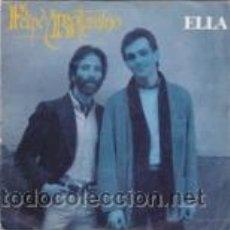 Discos de vinilo: FELIPE Y BOTTAMINO ELLA/LA VIDA LLEVA RITMO DE R&R (MOVIEPLAY 1981). Lote 41471898