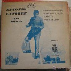 Discos de vinilo: ANTONIO LATORRE EP CUMBIA 70 SELLO BCD. Lote 41472747