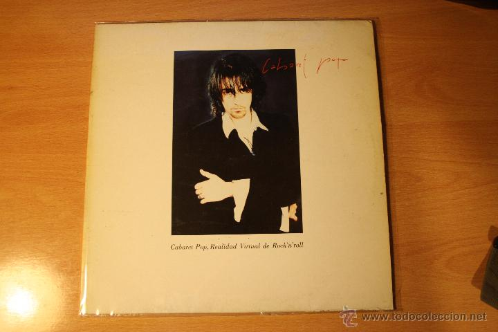 CABARET POP, CABARET POP, REALIDAD VIRTUAL DE ROCK´N´ROLL, LP (Música - Discos - LP Vinilo - Grupos Españoles de los 90 a la actualidad)