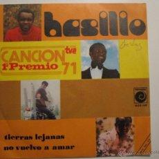 Discos de vinilo: BASILIO- TIERRAS LEJANAS NOVOLA SOUL. Lote 41474550