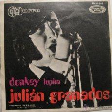 Discos de vinilo: JULIAN GRANADOS - DONKEY . Lote 41474638