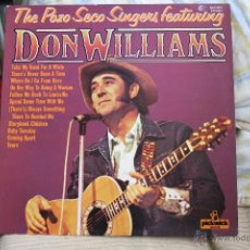 Discos de vinilo: DON WILLIANS, THE POZO SECO FEATURING, MADE IN ENGLAND, PICKWICK RECORDS, LP. Lote 41476154