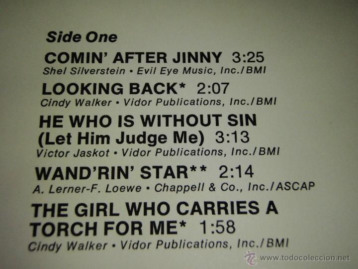 Discos de vinilo: Tex Ritter – Comin After Jinny USA 1976 Capitol Records - Foto 3 - 41479988