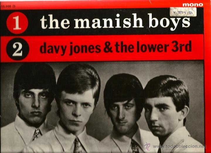 MAXI DAVID BOWIE ( THE MANISH BOYS / DAVY JONES & THE LOWER 3RD (Música - Discos de Vinilo - Maxi Singles - Pop - Rock Internacional de los 50 y 60)