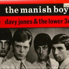Discos de vinilo: MAXI DAVID BOWIE ( THE MANISH BOYS / DAVY JONES & THE LOWER 3RD. Lote 41480043