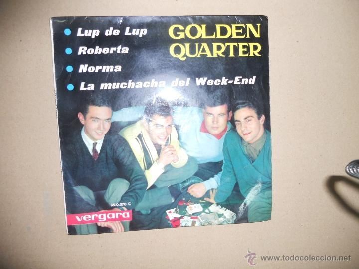 GOLDEN QUARTET (EP) LUP DE LUP AÑO 1963 (Música - Discos de Vinilo - EPs - Grupos Españoles 50 y 60)