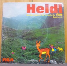 Discos de vinilo: HEIDI - BANDA ORIGINAL DE LA SERIE DE RTVE CAPÍTULO 3 - SINGLE RCA VICTOR - SPBO-7036 - ESPAÑA 1975. Lote 36526942