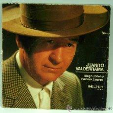 Discos de vinilo: JUANITO VALDERRAMA DIEGO PIÑEIRO PALOMO LINARES 1971 SINGLE 45 RPM VINILO. Lote 41483266