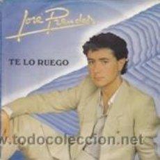 Discos de vinilo: JOSE PRENDES TE LO RUEGO/INTENTÉMOSLO (FONOGRAM 1982). Lote 41488956