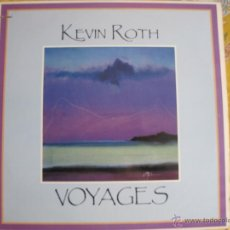 Disques de vinyle: LP - KEVIN ROTH - VOYAGES (USA, FLYING FISH RECORDS 1986). Lote 41489453