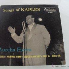 Discos de vinilo: AURELIO FIERRO - LAZZARELLA + 3 EP MADE IN ENGLAND. Lote 41489618