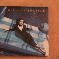 Discos de vinilo: BELINDA CARLISLE - HEAVEN ON EARTH. Lote 41491673