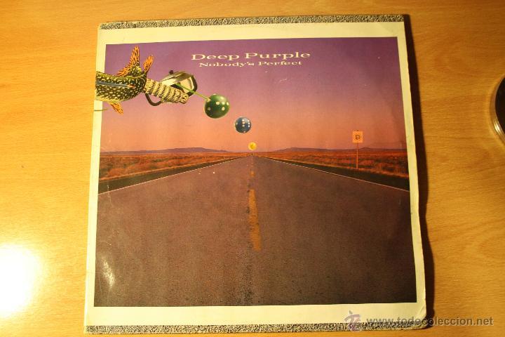 DEEP PURPLE, NOBODY´S PERFECT, PORTADA ABIERTA DOBLE LP, GERMANY (Música - Discos - LP Vinilo - Heavy - Metal)