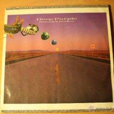 Discos de vinilo: DEEP PURPLE, NOBODY´S PERFECT, PORTADA ABIERTA DOBLE LP, GERMANY. Lote 41493181