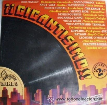 DOBLE ALBUM GIGANTISIMO 2 LPS DE VINILO AÑOS 80 (Música - Discos de Vinilo - Maxi Singles - Otros estilos)