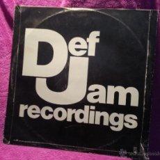 Discos de vinilo: DSICO DE VINILO DEF JAM RECORDINGS 12. Lote 41495289