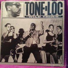 Discos de vinilo: DISCO DE VINILO TONE LOC WILD THINGS 12. 1989.. Lote 41495457