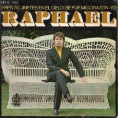 Discos de vinilo: RAPHAEL, EP, JINETES EN EL CIELO+ 3, AÑO 1969. Lote 41500025