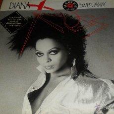 Disques de vinyle: DIANA ROSS, SWEPT AWAY , LP 1984. Lote 41501844
