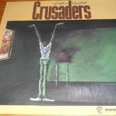Discos de vinilo: THE CRUSADERS - GHETTO BLASTER , LP 1984. Lote 41502257