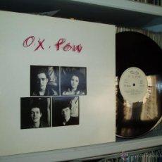 Discos de vinilo: O.X. POW MAXI POLITICOS + 4 PUNK ROCK FUERTE NUEVOS MEDIOS 1985 SPAIN NUEVO. Lote 41504928