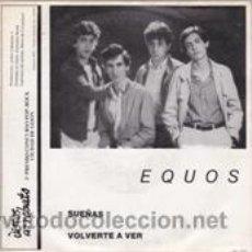 Discos de vinilo: EQUOS/CRIMEN PERFECTO E.P. (ARREBATO 1982). Lote 41506038