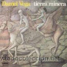 Discos de vinilo: DANIEL VEGA TIERRA MINERA/CANTÁBRICO (MOVIEPLAY 1976). Lote 41506624