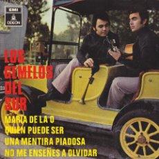 Discos de vinilo: LOS GEMELOS DEL SUR - MARIA DE LA O + 3 - EP 1970. Lote 41509335