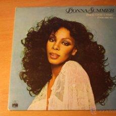 Discos de vinilo: DONNA SUMMER, ONCE UPON A TIME, ARIOLA SPAIN 77 PORTADA ABIERTA ,DOBLE LP. Lote 41511660
