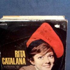Discos de vinil: RITA PAVONE - RITA CATALANA. Lote 41514456