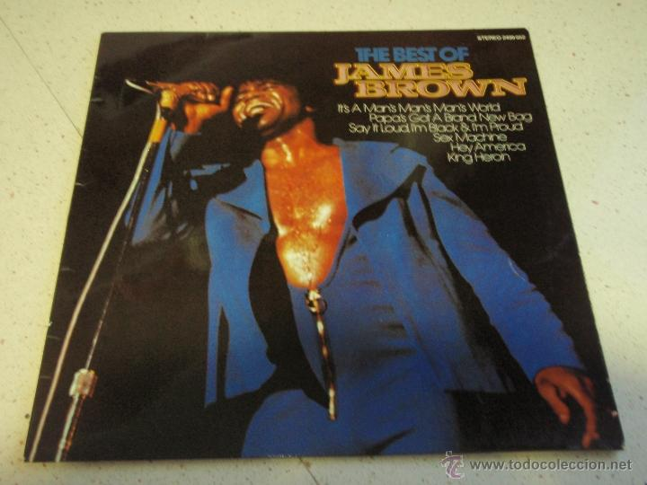 JAMES BROWN ( THE BEST OF JAMES BROWN ) 1981-GERMANY LP33 KARUSSELL (Música - Discos - LP Vinilo - Funk, Soul y Black Music)