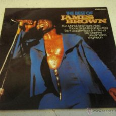 Discos de vinilo: JAMES BROWN ( THE BEST OF JAMES BROWN ) 1981-GERMANY LP33 KARUSSELL. Lote 41514765