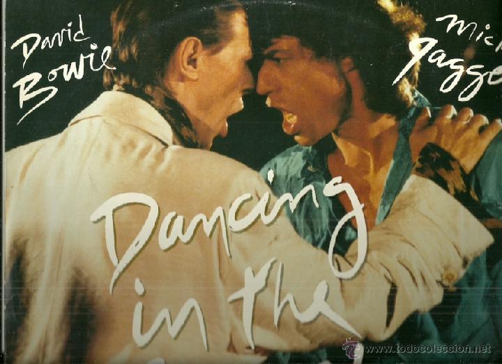 DAVID BOWIE Y MICK JAGGER MAXI-SINGLE SELLO EMI EDITADO EN INGLATERRA (Música - Discos de Vinilo - Maxi Singles - Pop - Rock Extranjero de los 70)