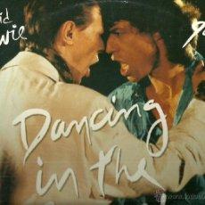 Discos de vinilo: DAVID BOWIE Y MICK JAGGER MAXI-SINGLE SELLO EMI EDITADO EN INGLATERRA. Lote 41516977
