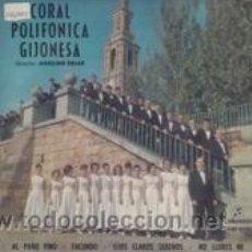 Discos de vinilo: CORAL POLIFONICA GIJONESA (COLUMBIA 1964). Lote 41523876