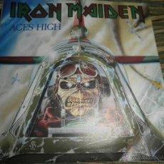 Discos de vinilo: IRON MAIDEN - ACES HIGH SINGLE 7 INCH - ORIGINAL INGLES - EMI RECORDS 1984 -. Lote 41527554