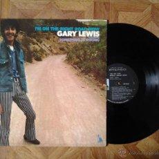Discos de vinilo: GARY LEWIS - I'M ON THE RIGHT ROAD NOW - LP USA 1969 - CARPETA VG++ VINILO VG+. Lote 41530364